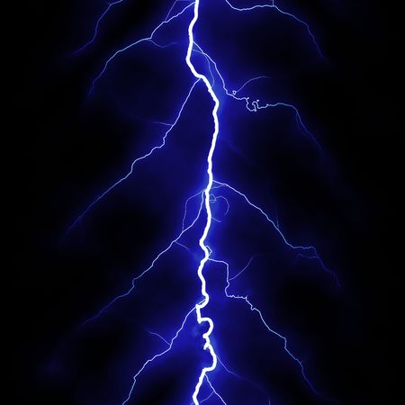 High quality computer generated seamless texture of lightning Stock Photo
