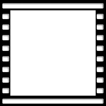 Image of negative film. Can be used as background