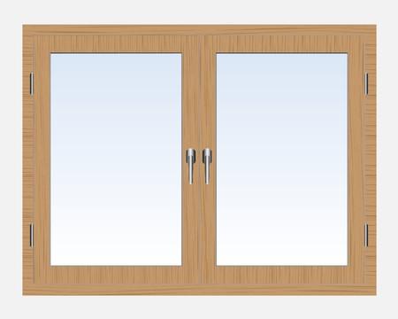 plastic window: Window Illustration