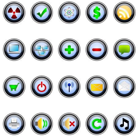 Buttons Stock Vector - 7234212