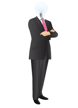 Man in suit Illustration