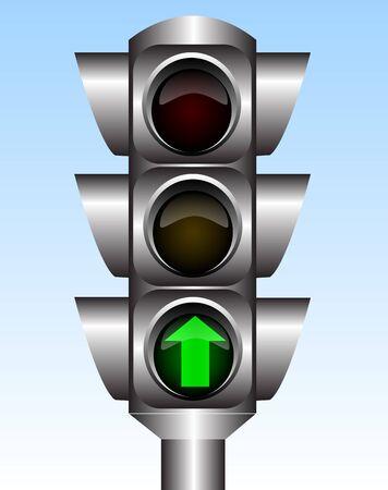 Traffic light Stock Vector - 7348546