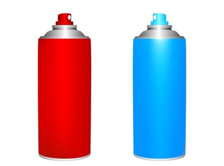 spray can: Spray