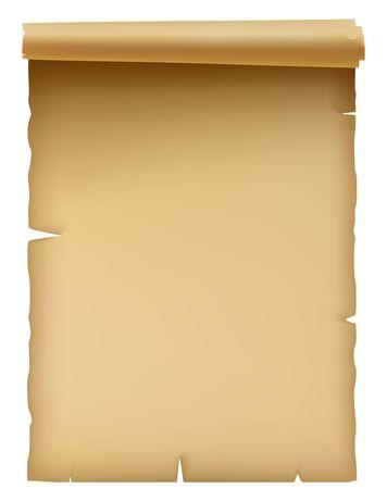 papiro: Pergamena  Vettoriali