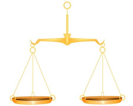 justice scales: Escala