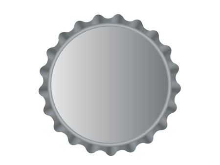 bottle cap: Bottlecap Illustration