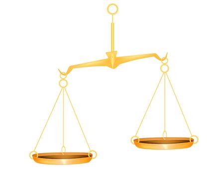 balanza justicia: Escala