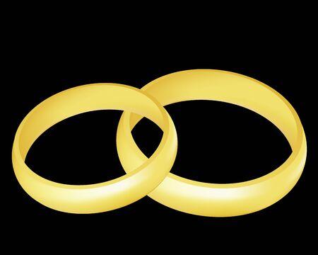 Rings Stock Vector - 7485352