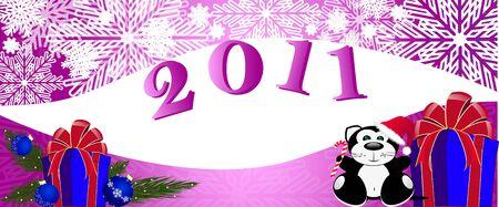 New year Illustration
