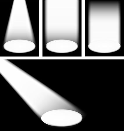 Spotlights Stock Vector - 9931386