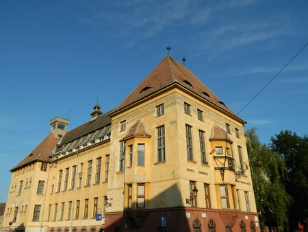 ludwig: Stephan Ludwig Roth, highschool in Medias, Romania with famous architecture.