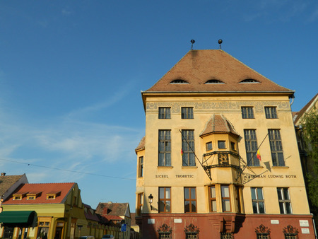 roth: Stephan Ludwig Roth, highschool in Medias, Romania with famous architecture.