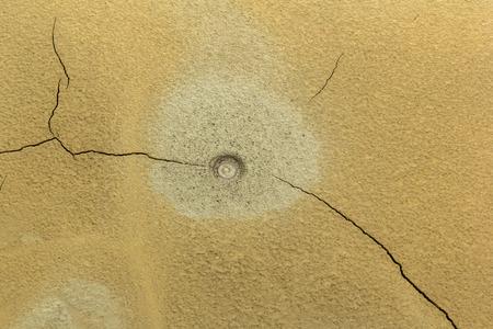 muddy: Small muddy volcano