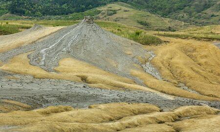 muddy: Muddy volcano Stock Photo