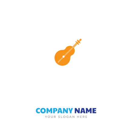 Two stringed musical instrument in white background.