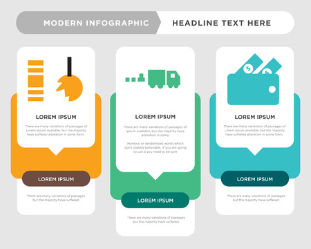 cashback business infographic template, the concept is option step with full color icon can be used for commodities diagram infograph chart business presentation or web, durable vector design element