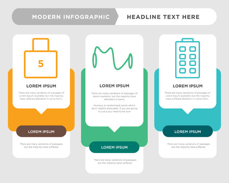 remote controller business infographic template, the concept is option step with full color icon can be used for sport diagram infograph chart business presentation or web, lock vector design element Illustration