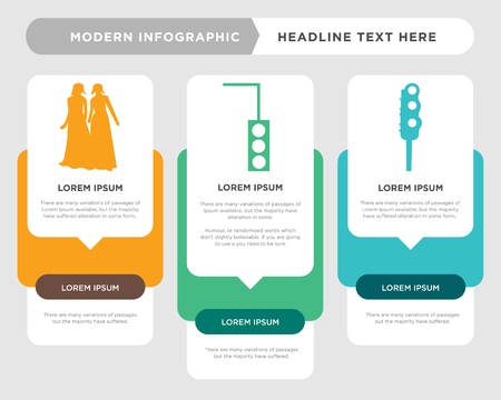 stoplight business infographic template, the concept is option step with full color icon can be used for stoplight diagram infograph chart business presentation or web, black bridesmaid vector design