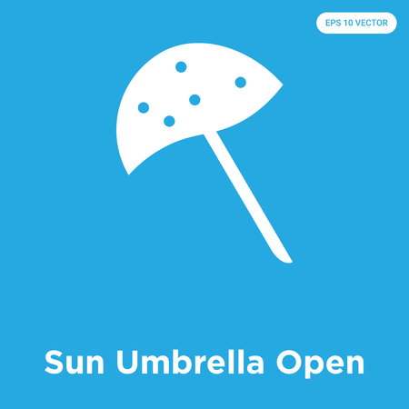 Sun parasol Open icon Ilustração