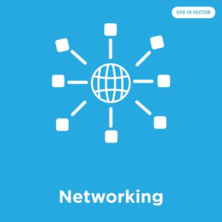 Networking icon Ilustração