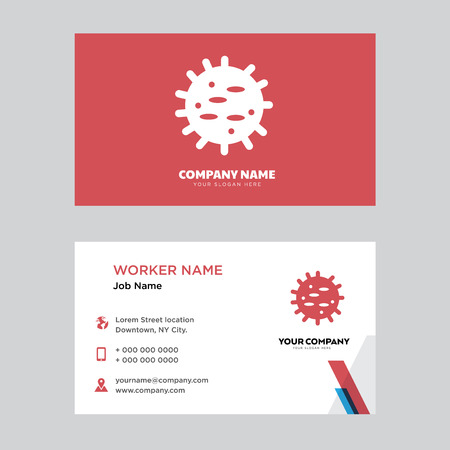 Big Cellule business card design template, Visiting for your company, Modern horizontal identity Card Vector