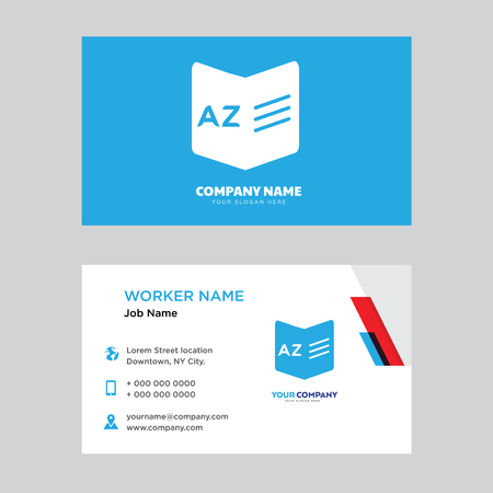 Dictionary Business Card Design Template, Visiting For Your Company ...