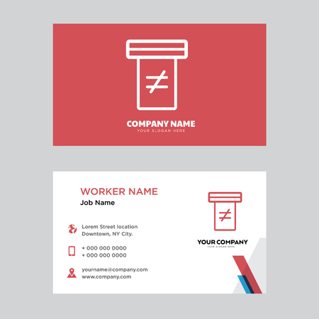 Holy scriptures business card design template, Visiting for your company, Modern horizontal identity Card Vector