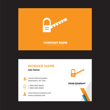 Toll road business card design template, Visiting for your company, Modern horizontal identity Card Vector