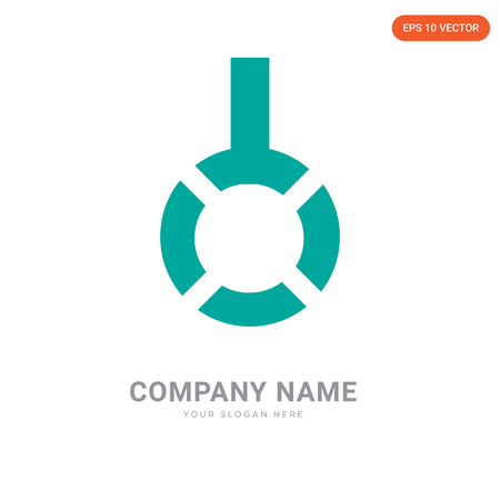 Gallows company logo design template, Gallows logotype vector icon, business corporative