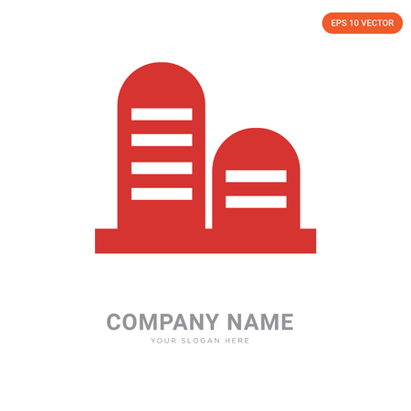 Tanks company logo design template, Tanks logotype vector icon, business corporative Illustration