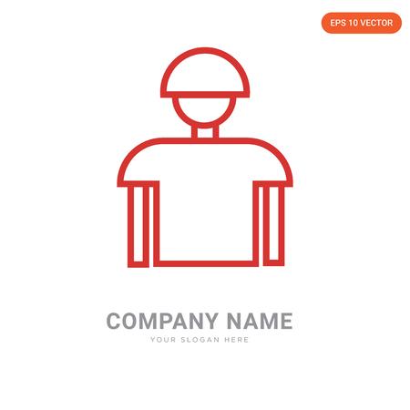 Referee company logo design template, Referee logotype vector icon, business corporative