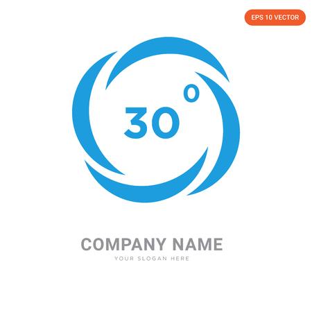 Modèle de conception de logo d'entreprise de lavage, icône de vecteur de logo de lavage, entreprise corporative Logo