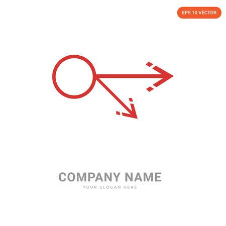 Multiply company logo design template, Multiply logotype vector icon, business corporative