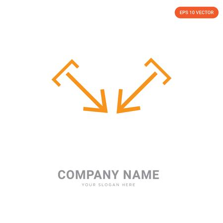 Focus company logo design template, Focus logotype vector icon, business corporative
