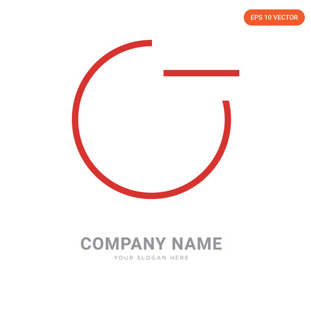 minus company logo design template, minus logotype vector icon, business corporative