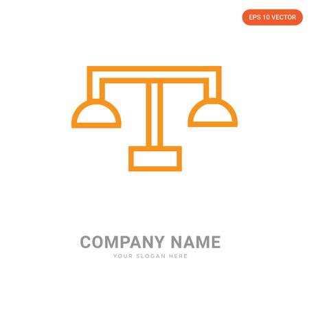 Balance company logo design template, Balance logotype vector icon, business corporative