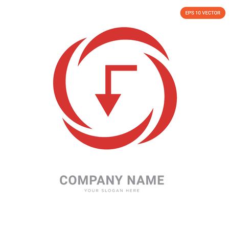 Electricity company logo design template, Electricity logotype vector icon, business corporative
