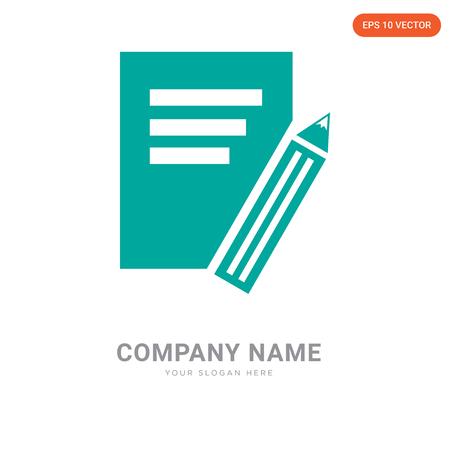 company logo design template,  logotype vector icon, business corporative