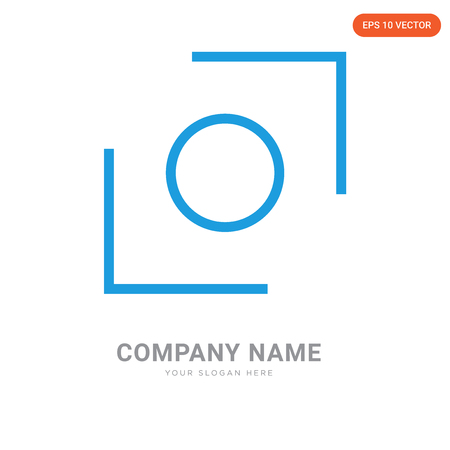 Glide company logo design template, Glide logotype vector icon, business corporative Ilustrace