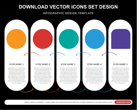 5 vector icons such as Creepy smile, Relieved Sad Happy Angry smile for infographic, layout, annual report, pixel perfect icon