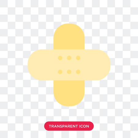 aid vector icon isolated on transparent background,