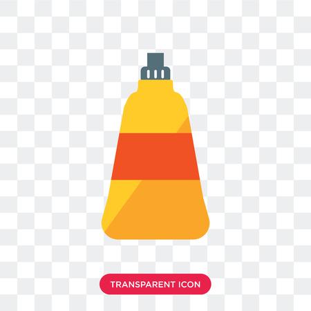 Icono de vector de jabón de plato aislado sobre fondo transparente, concepto de logo de jabón de plato