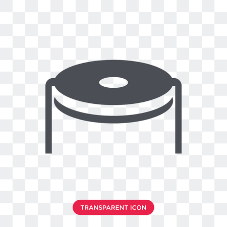 Trampoline vector icon isolated on transparent background, Trampoline logo concept Illustration