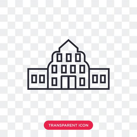 Buckingham vector icon isolated on transparent background, Buckingham logo concept Illustration