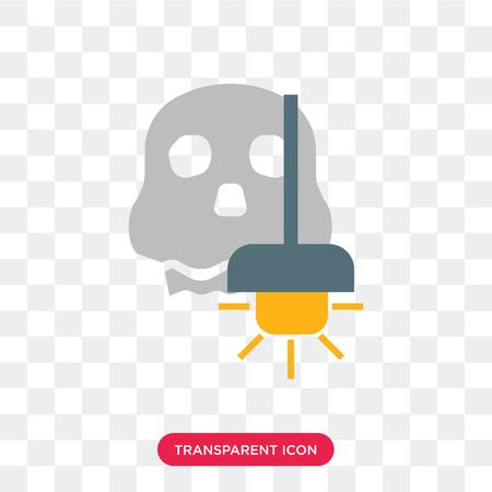 Oświetlenie wektor ikona na białym tle na przezroczystym tle, koncepcja logo oświetlenia