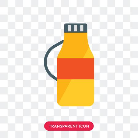 Icono de vector de detergente aislado sobre fondo transparente, concepto de logo de detergente