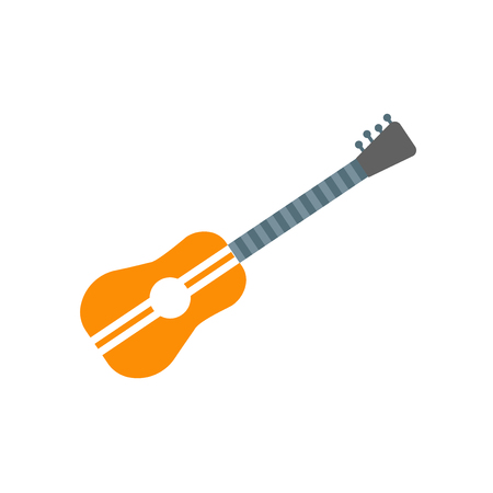 Spanish guitar icon vector isolated on white background for your web and mobile app design, Spanish guitar logo concept