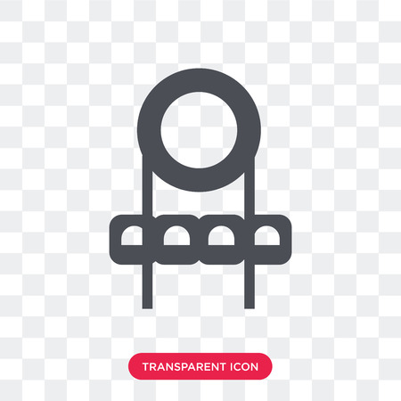 Soccer field vector icon isolated on transparent background, Soccer field logo concept