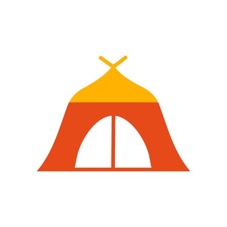 Tent pictogram vector geïsoleerd op een witte achtergrond voor uw web en mobiele app design, Tent logo concept