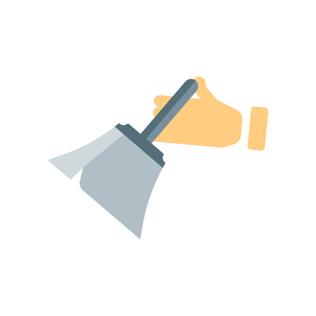 Dusting icon vector isolated on white background for your web and mobile app design, Dusting logo concept Çizim